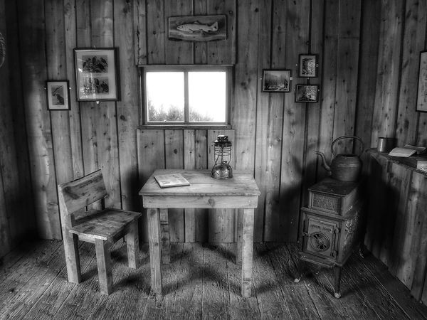the log cabin Malephotographerofthemonth monochrome photography Blackandwhite Photography Creative Light and Shadow Art Photography Artistic Photo Creative Photography Black & White Photography Log Cabin Interior Log Cabin Old Black And White EyeEm Selects Abandoned Wood - Material No People Day Indoors  Architecture