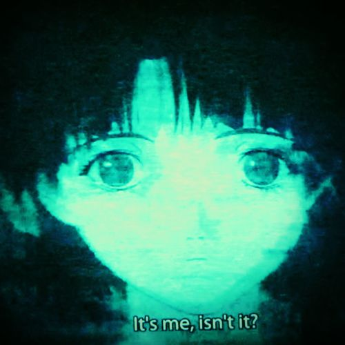 Serial Experiments Lain Anime Numb Series Girl Psychological