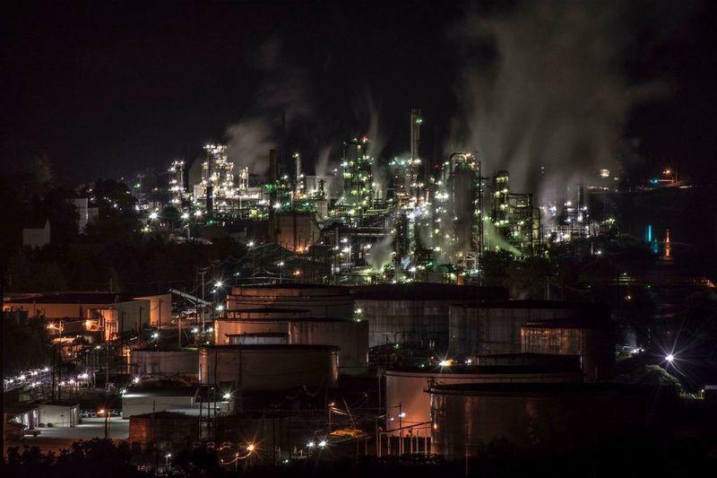 United Refining Company Warren Pennslyvania Industry Oil Progress Gas