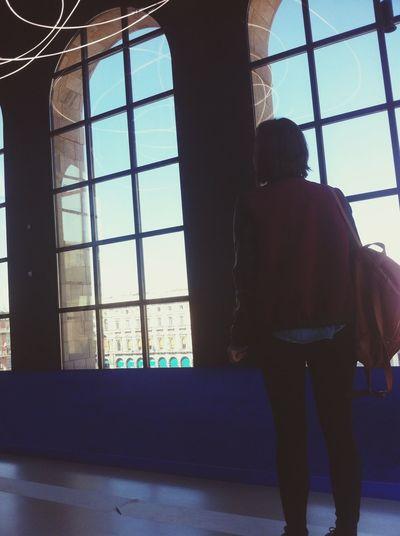 Taking Photos Museum Museo Del Novecento That's Me Landscape Portrait