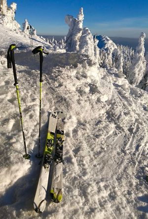 Touring Ski Ski Sunlight Nature Day Sky Land Shadow Cold Temperature Snow Sport Winter Outdoors