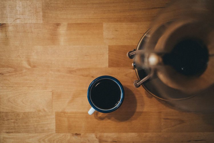 Chemex Coffee Coffee Time Copy Space Espresso Black Coffee Breakfast Coffee Coffee - Drink Coffee Cup Cup Directly Above Drink High Angle View Indoors  No People Still Life Table