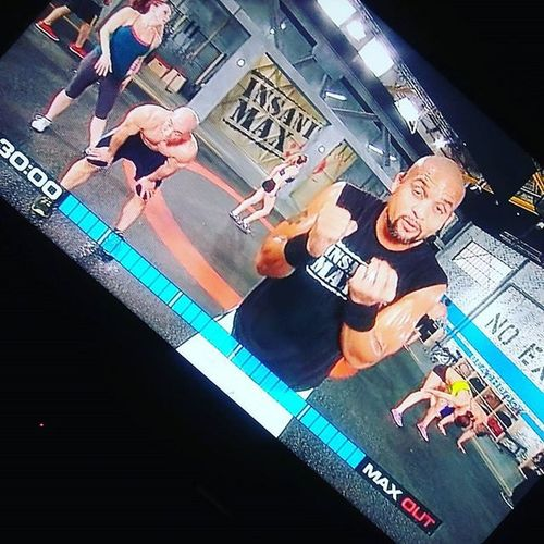 Insanity Tabata Power wiped me out!!! Fitness Exercise Tábata Workout Healthyliving Letsgetsweaty Motivation ShaunT Instagood Gym Intervals GymLife Imaxedout Beachbody Gains Beactive Happy