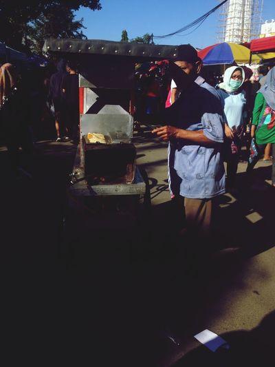 Real People Men People Street Market Walking Leisure Activity