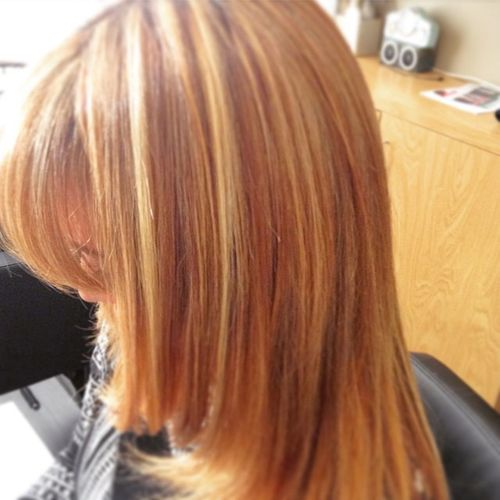 We r gettin there with my client/friend Haircolor breaking down the red slowly. Gettheredout Haircolor Haircut hair blowdry blowout bblogger hblogger fblogger scissorsalute