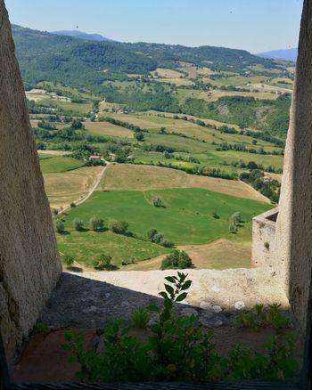 Castle Walls Beauty In Nature Window San Leo Italy🇮🇹 Castel