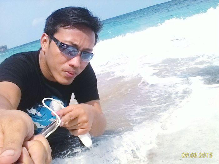 Amazing blue Sunshine Being A Beach Bum Surfing Sea