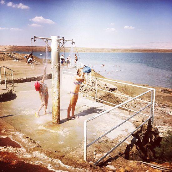 Deadsea Sea Sunshine Being A Beach Bum