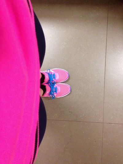 Training Running Outfit Pink
