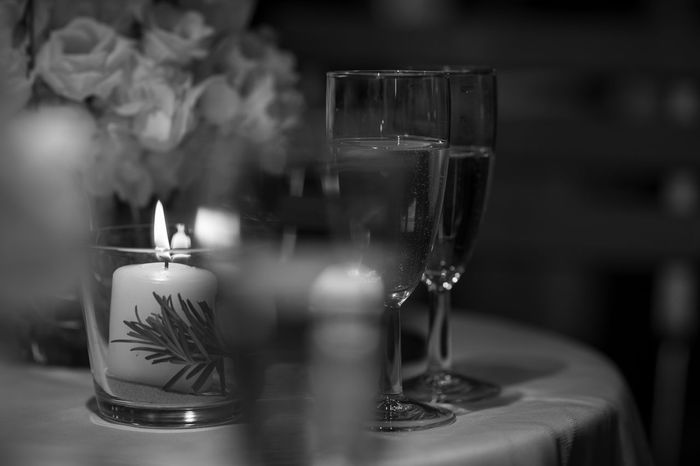 sparkling wine Glass Candle Wineglass Refreshment Food And Drink Table Drink Drinking Glass Household Equipment Indoors  Transparent Wine Close-up Burning Fire Glass - Material Flame No People Alcohol Selective Focus Tea Light Setting