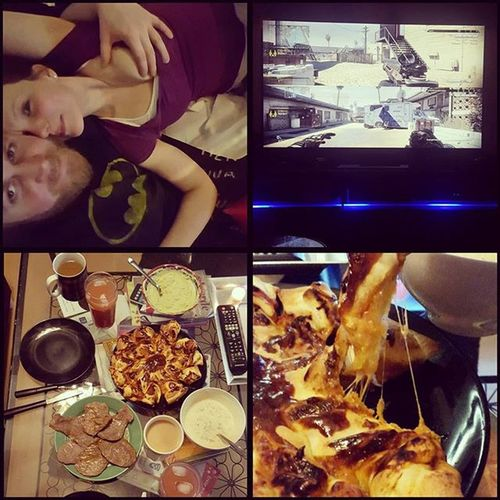 Datenight with @_iracundia_ Foodporn Codghosts Boobs Gamercouple GoodTimes
