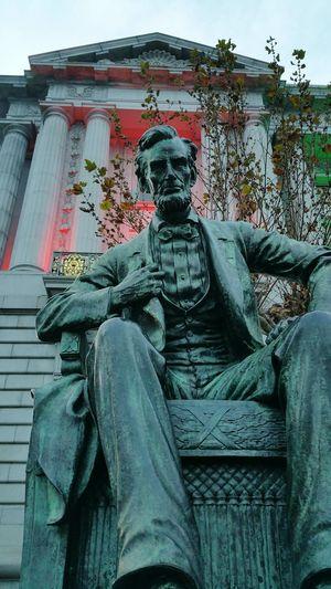 Statue Abraham Lincoln Abraham Lincoln Statue San Francisco San Francisco City Hall City Hall