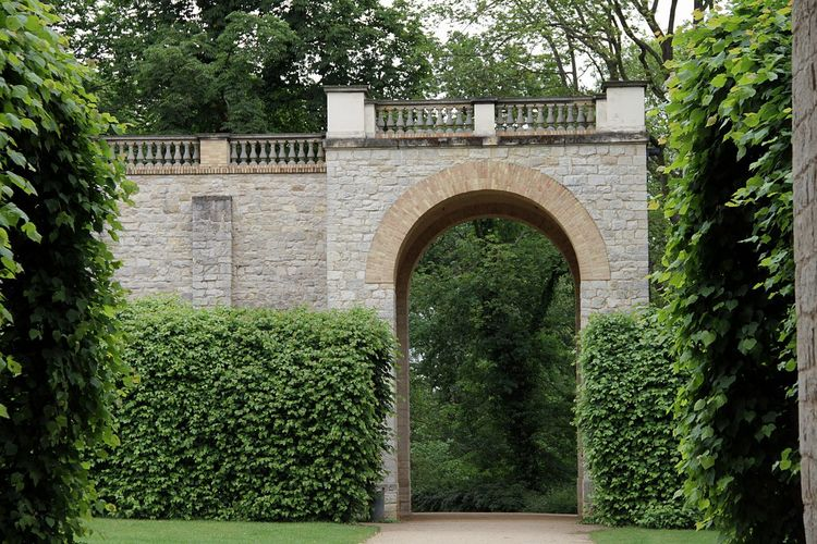 Arch Architecture Belvedere Castle Building Exterior Built Structure Day Green Color Growth Ivy Nature No People Outdoors Plant Tree