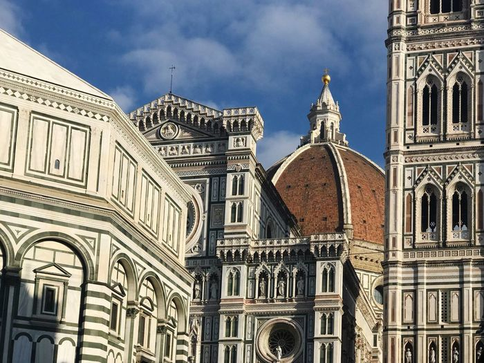 Firenze Florence Building Exterior Architecture Built Structure Place Of Worship Religion Building Sky Travel Destinations