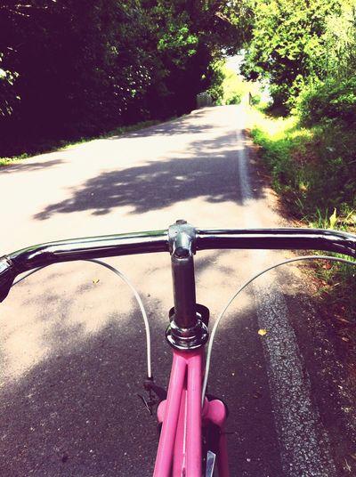 Tout est beau à vélo ! Velo Campagne Hello World Balade First Eyeem Photo