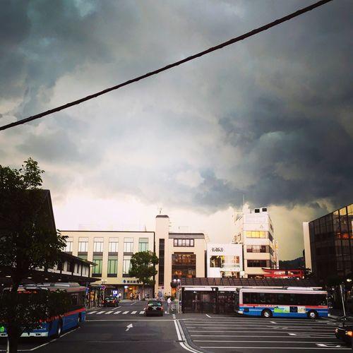 Clouds And Sky Transportation Japan Kamakura Station Summer