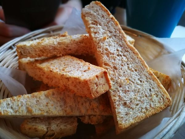 Bread Food Food And Drink Healthy Eating Toasted Bread No People Close-up Huawei P10 Plus Huaweiphotography Huawei Photography Food