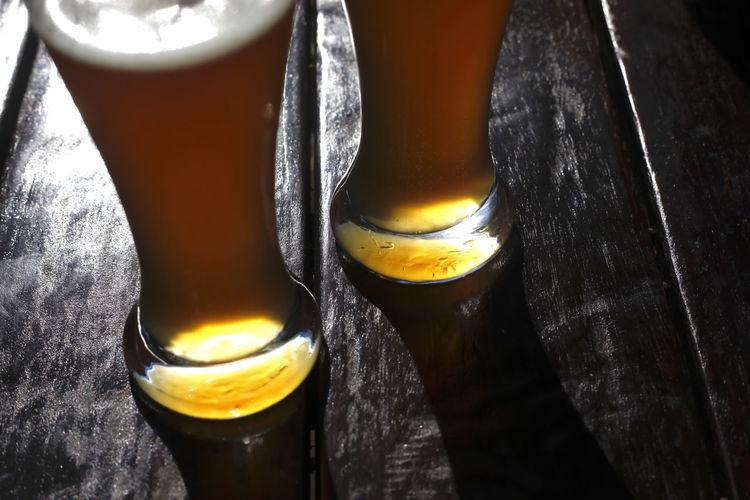 Hefeweizenbier,Deutschland Bier Erfrischung Food And Drink Getränk Hefeweizen🤗 Biergarten Close-up Drink Food Glass Hefeweissbier Hefeweizen Sommer Sommerzeit