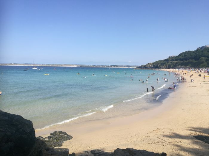 Water Clear Sky Tree Sea Beach Wave Beauty Blue Sand Summer