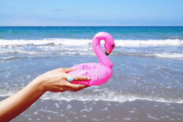 夏休み ビーチ