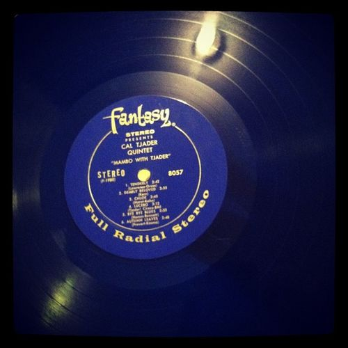 Cal Tjader on blue vinyl before bed. Mmm, Viny , Record , Jazz , Class , music, latin