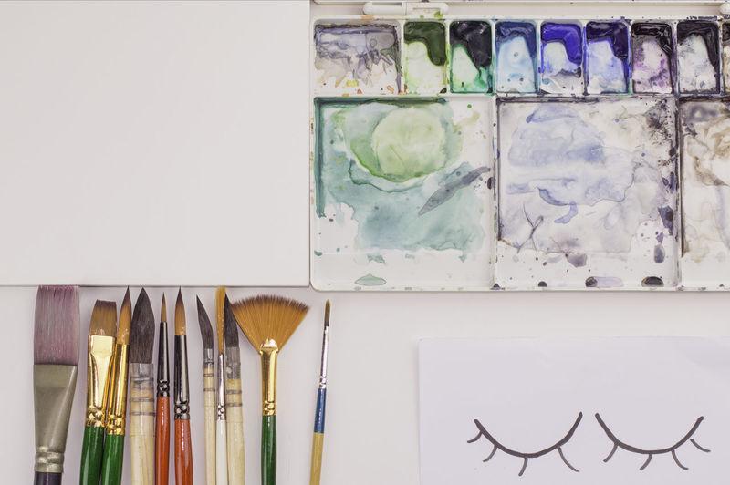 Brushes, Paper