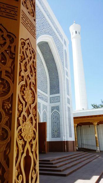 Minor Mosque Art Build Beauty Uzbekistan Tashkent