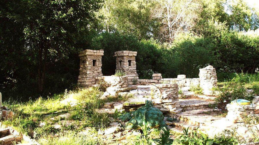 Ruins of old ruins