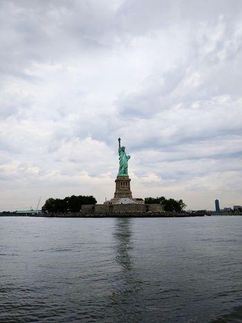New York City Liberty Island Statue Of Liberty Travel Destinations New York City Life Ferry Views Ferry Beautiful