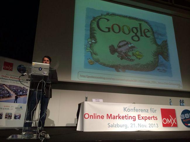 Marcus Tandler @mediadonis: Keynote der Seokomm