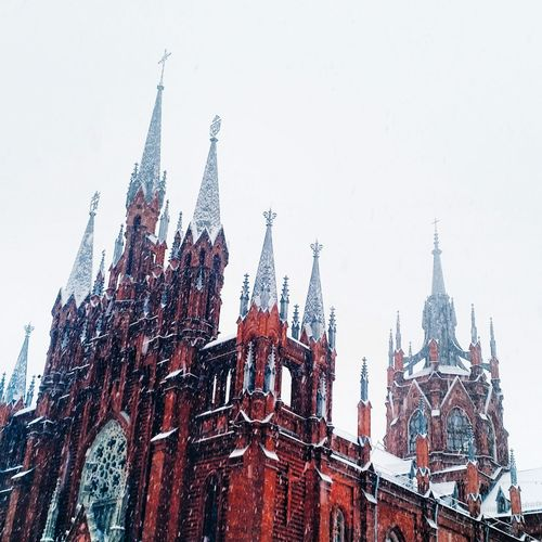 Architecture Winter Is Coming Snow Cathedral