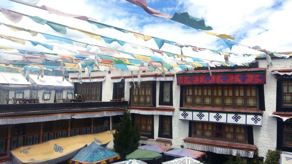 Tibet Street Colorful Beauty In Nature Barkhor Street 201708 History