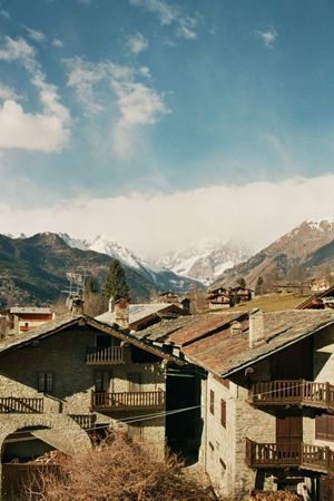 Holidays in Courmayeur with friends Analogue Photography Canon