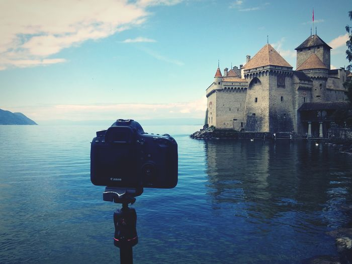 The castle Castle Canon Eos6d Long Exposure Chateau De Chillon Switzerland Lake Geneve Photography Photographer Traveling Market Reviewers' Top Picks