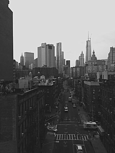 EyeEm Best Shots - Black + White Manhattan Bridge Walkway Veiw Of Manhattan Black And White Photography IPhoneography Iphone6plus Enjoying My City