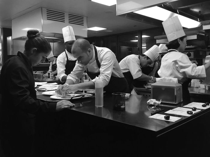 Orgullo De Equipo MomentsRestaurant Mandarinorientalbarcelona