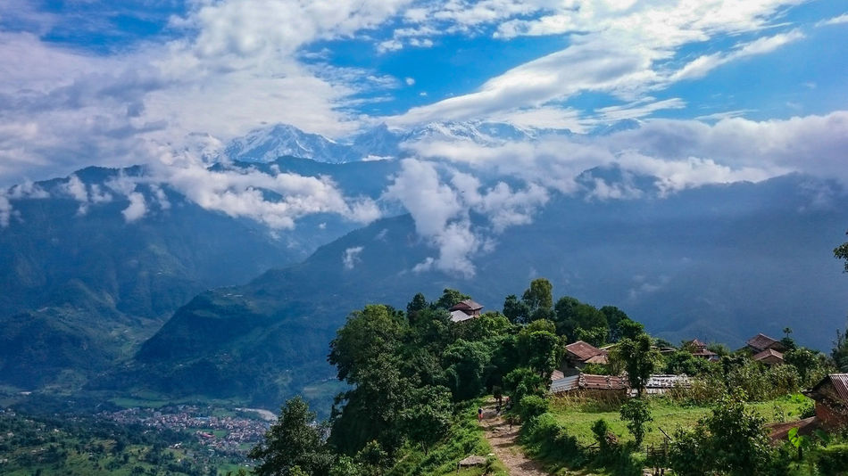 The Great Outdoors With Adobe Nepal #travel Nepali  Himalayas Annapurna Trail Nepali Way