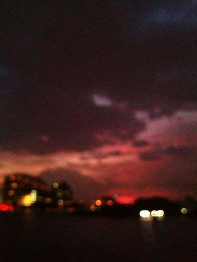 River City Red Space Sunset Sky First Eyeem Photo