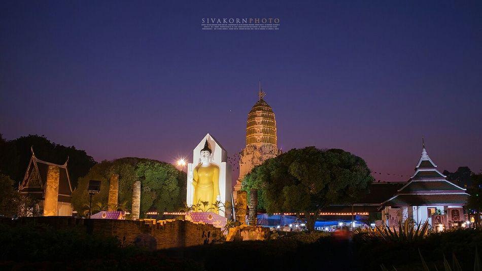 Last light @Wat Yai, Phitsanulok