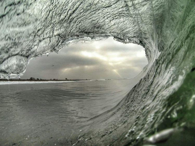 The Pursuit Of Happiness No Edit No Fun Wave Cave Surf Life Eat Sleep Surf Gopronation Barrelsforbreakfast EyeEm_crew Tadaa Community Bodysurfing
