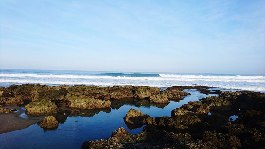 morning Ocean Ocean View Oceanside Surf Wavesuft Philippines South East Asia Sea Horizon Over Water Beach No People Water Nature Outdoors Day Low Tide Beauty In Nature