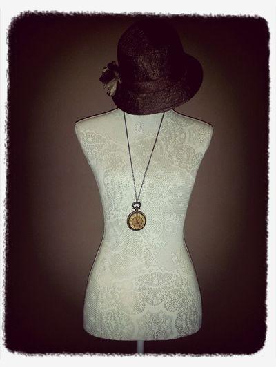 Manican Art Vintage Hat Compass