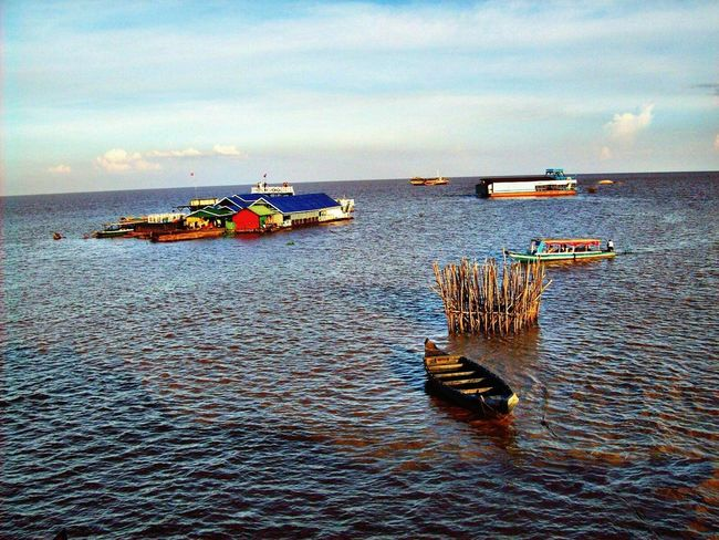 Travel Water Cambodia Outdoors No People Tonlesap