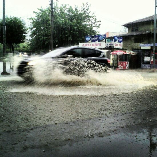 heavy rain Rainy Day Car Wash Turkey Türkiye Ordu Bleacksea Rain