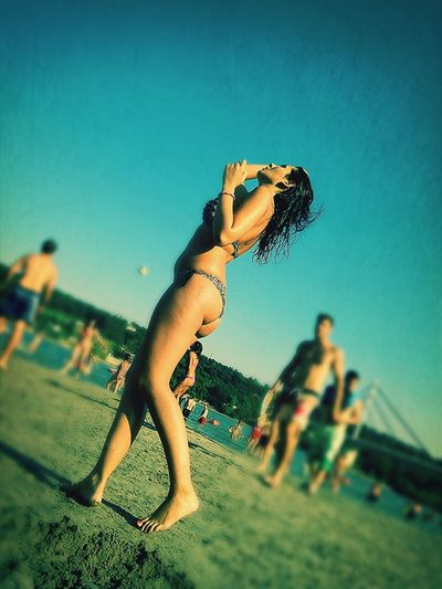 Novi Sad Last Summer Beach Relaxing