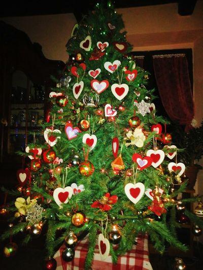 My Christmas Tree Christmas Lights Christmas Spirit Albero Di Natale Natale2015 Christmashome Aria Di Natale