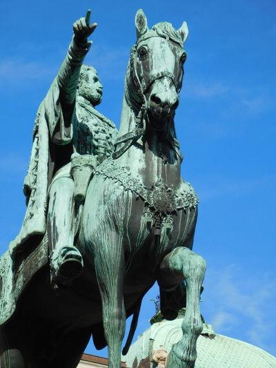 Sky Statue Sculpture Close-up Day Sunny Day Belgrade Serbia Stari Grad Knez Mihajlova Konj Inspired EyeEmNewHere Resist