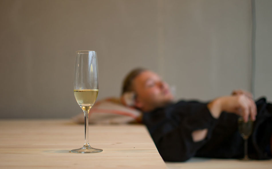 Black Bubbly Casual Clothing Champagne Chill Out Close-up Date Drinking Focus On Foreground Glass Leisure Activity Lifestyles Man Minimal Ordinary People Plain Relaxing Relaxing Moments Romance Selective Focus Shirt