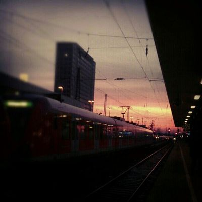 Train Station Sunset