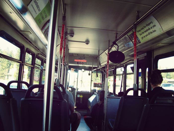 The first photo i ever took. I love this one. On da City Bus